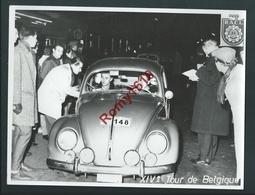 Volkswagen Coccinelle.Tour De Belgique. Rallye Automobile Club Liégeois. Photo Stourme. 2 Scans. - Sports