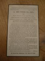 Lokeren Assenede 1867 1950 Jan Van De Vyver - Devotieprenten
