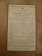 Lokeren Heiende Stephanie Pieters 1862 1941 - Devotieprenten