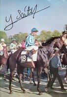 Hippisme : Le Jockey Yves Saint Martin (dédicacé) - Sportifs