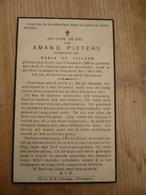 Lokeren Heiende Amand  Pieters  1866 1945 - Devotieprenten