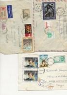POLOGNE - LOT DE 12 LETTRES DES ANNEES 1960 70 - 1944-.... Republic