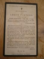 Lokeren Heiende Louis Pieters 1855 1930 - Devotieprenten