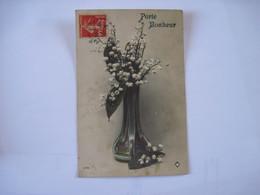 CPA  Porte Bonheur Bouquet De Muguet 1912  TBE - Otros