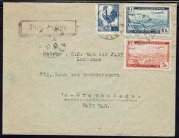 ALGERIE - 1947 - Affranchissement à 19 F. Sur Enveloppe D'Alger Pour Gravenhage - B/TB - - Algérie (1924-1962)