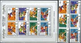 Aitutaki, World Cup 1982, 8 Stamps + Sheetlet - Coupe Du Monde