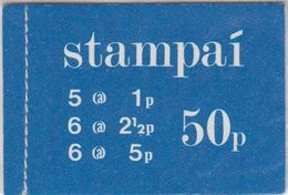 Ireland 1974 Booklet 50P (blue Cover) ** Mnh (41910) - Boekjes