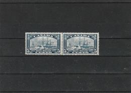 Canada - 1933 - Michel# 174 - Ship Royal William MNH(**) - PAIR - 1911-1935 Reign Of George V