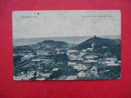 Vladivostok 1910-th View Of The City From Uspenskaya Mountain. Russian Postcard - Russie