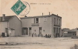 51 Ambonnay. Le Café De La Gare - France