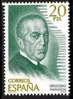 España. Spain. 1979. Personajes Españoles. Gregorio Marañon. Medico. Escritor - 1931-Hoy: 2ª República - ... Juan Carlos I
