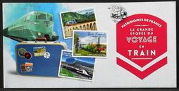FR. 2014 - N° BC999 Y & T - Voyages En Train - 12 TIMBRES AUTOADHESIFS NEUFS**- Au Tarif Lettre Prioritaire De 20gr - Luchtpost