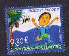 5.- MONTENEGRO 2017 THE JOY  OF EUROPE - CCHILDREN S DRAWING - Montenegro