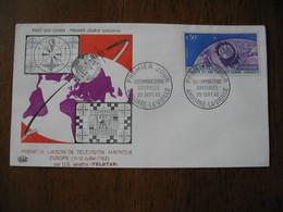 FDC  Enveloppe   Andorre Français  1962 - FDC