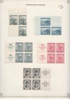 Tsjechoslowakije  .  4 Pages With Stamps       .   *       .    Mainly Mint-hinged - Tsjechoslowakije