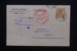 ALLEMAGNE - Cachet D 'armée En Rouge Sur Carte De Correspondance En 1916 - L 23757 - Covers & Documents