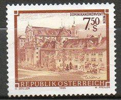Timbres Neufs** D'autriche,  N°1692 Yt, Couvent Des Dominicains à Vienne - 1945-.... 2ème République