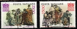 R313. VATICAN 1986. SC#: 777,778 - USED - PONTIFICAL ACADEMY OF SCIENCES, 50TH ANNIV. - Vatican