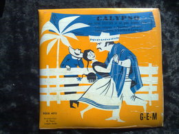 Deno Destero Et Son Grand Orchestre: Calypso/ 45t GEM Egex 4573 - Klassik