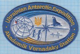 UKRAINE/ Patch, Abzeichen, Parche, Ecusson / ANTARCTICA / Vernadsky Station / Fauna / Penguin - Patches