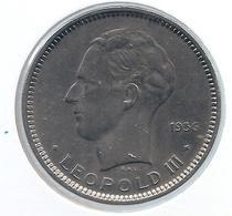LEOPOLD III * 5 Frank 1936 Vlaams  Pos.A * Z.Fraai / Prachtig * Nr 5003 - 1934-1945: Leopold III