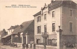 Thise Mairie école Canton Marchaux CLB 20912 - Autres Communes
