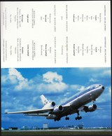 Netherlands / KLM Inflight Programme / Airplane DC 10 - 1946-....: Modern Era