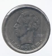 LEOPOLD III * 5 Frank 1936 Frans  Pos.A * Z.Fraai / Prachtig * Nr 5011 - 1934-1945: Leopold III