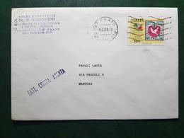 (19000) STORIA POSTALE ITALIA 1988 - 1946-.. République