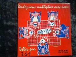 Jacqueline Danno:Voulez-vous Multiplier Avec Nous-tables 3-6-9/33 Atlas 17006 - Hit-Compilations