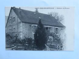 C.P.A. : 01 SAINT-JEAN DE GONVILLE : Habitation Du Docteur, Timbre En 1910 - France