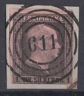 Preussen Minr.2 Briefstück Nr.-St.611 Herford - Preussen