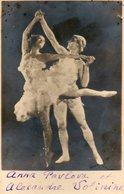 Danse : Anna Pavlova Et Alexandre Volinine - Personnes Identifiées
