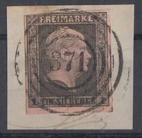 Preussen Minr.2 Briefstück Nr.-St. 371 Eisleben - Preussen