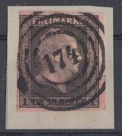Preussen Minr.2 Briefstück Nr.-St. 174 Brandenburg - Preussen