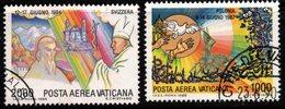 R329. VATICAN 1986. SC#: C80,C85 - USED - PAPAL JOURNEYS - Vaticano (Ciudad Del)