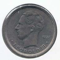 LEOPOLD III * 5 Frank 1936 Frans  Pos.B * Prachtig * Nr 5024 - 1934-1945: Leopold III