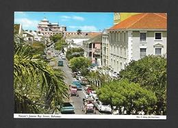 NASSAU - BAHAMAS - NASSAU'S FAMOUS BAY STREET - PHOTO E. LUDWIG  BY JOHN HINDE STUDIO - Bahamas