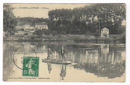 LOCHES Sur OURCE 1912 L' ETANG Aube Près ESSOYES Celles Verpillières Les Riceys Bar Sur Seine Vendeuvre Barse Troyes - Autres Communes