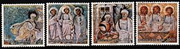 R333. VATICAN 1990. SC#: 853-856 - USED - CARITAS INTERNATIONAL - Vaticano (Ciudad Del)