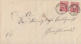 DR Brief Mef Minr.2x 41 K1 Gützkow 10.3.88 - Deutschland