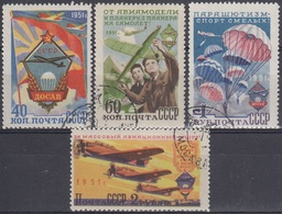 URSS / RUSIA 1951 Nº 1576/1579 USADO - 1923-1991 UdSSR