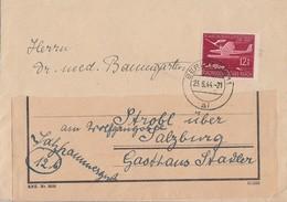 DR Brief EF Minr.867 Berlin 23.6.44 Gel. Nach Österreich - Allemagne