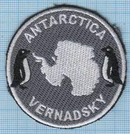 UKRAINE/ Patch / ANTARCTICA / Vernadsky Station / Fauna / Penguin . - Patches