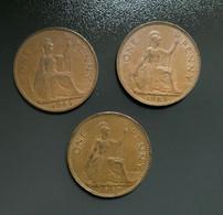 GRAN BRETAGNA  - ENGLAND  1967  Moneta 1 PENNY Elisabetta II - 1971-… : Monnaies Décimales