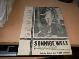 Erotica Nude Sonnige Welt - Pubblicitari