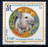 NCE - 1034** - ANNEE LUNAIRE CHINOISE DU RAT - Nouvelle-Calédonie
