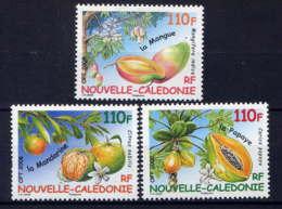 NCE - 1041/1043** - FRUITS TROPICAUX - Nouvelle-Calédonie