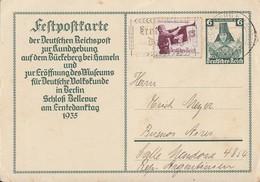 DR GS Minr.P255 Zfr. Minr.585 SST Bückeburg Gel. Nach Argentinien - Allemagne
