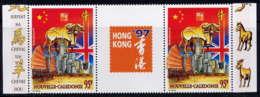 NCE - A342A** - HONG KONG 97 - Poste Aérienne